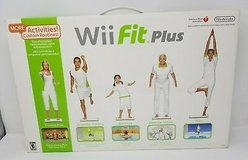 Wii Fit Plus with Balance Board and Video Games in 29 Palms, California