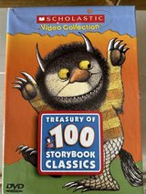 Treasury of 100 Storybook Classics Scholastic Video Collection 16 DVDs in Okinawa, Japan