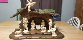 Nativity set in Batavia, Illinois