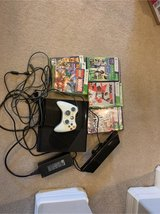 xbox 360 Kinect with 10 games in Houston, Texas
