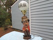 VINTAGE BAR LAMP WITH MILK GLASS GLOBE in Cherry Point, North Carolina