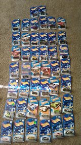 Hot Wheels cars in Yucca Valley, California