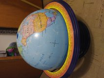 Super cool globe in Alamogordo, New Mexico