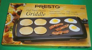 New Presto Cool Touch Electric Griddle in Naperville, Illinois