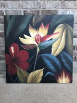 Bold Beautiful Floral Painting in Houston, Texas