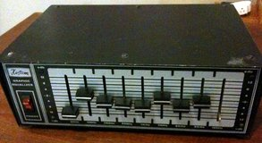 "Kustom vintage 9-band equalizer, mono with 1/4"" I/O in Tacoma, Washington"