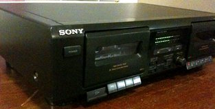 Sony dual cassette player TC-WE305 works great in Tacoma, Washington