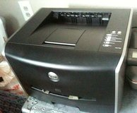 Dell Laser 1720 black printer, home-office size with spare toner in Fort Lewis, Washington