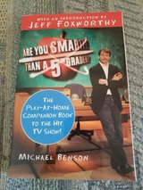 Are You Smarter than a 5th Grader by Michael Benson, Intro by Jeff Foxworthy Paperback, LNC in Warner Robins, Georgia