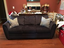 Charcoal gray Couch in Warner Robins, Georgia