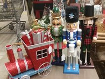 Nutcrackers, place mats, napkins in Fort Campbell, Kentucky