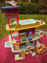 Toy Parking Tower in Plainfield, Illinois