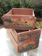 Vintage Wood Crates in Batavia, Illinois