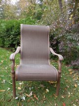 Plantation style patio chair in Naperville, Illinois