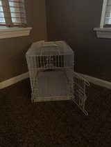 Small dog cage in Chicago, Illinois