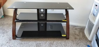 3 tiered glass tv stand in Camp Pendleton, California