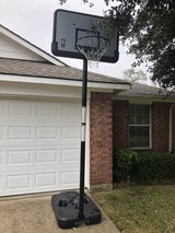 Basketball goal in Conroe, Texas
