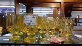 Vintage Yellow Glass in Camp Lejeune, North Carolina
