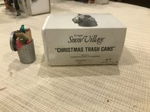 Snow Village Trash can in Naperville, Illinois