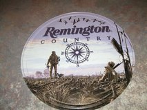 Remington Country ROUND TIN SIGN geese hunting compass in Camp Lejeune, North Carolina