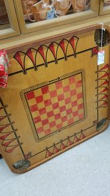 Vintage Carrom Wood Game Board in Camp Lejeune, North Carolina