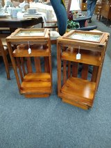 2 Peach Crate End Tables in Naperville, Illinois