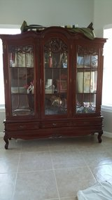 China curio cabinet in Cleveland, Texas