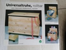 Big box wood with roles in Spangdahlem, Germany