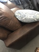 Genuine Leather Couch in Camp Lejeune, North Carolina