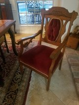 Antique sitting chair in Kingwood, Texas