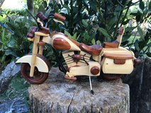 Wooden Motercycle in Okinawa, Japan