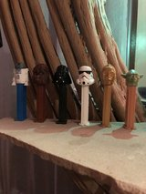 Star Wars Pez Collection in Okinawa, Japan
