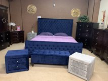 United Furniture - Blue Ritz 2 - QS & KS- also light Grey - including delivery in Spangdahlem, Germany