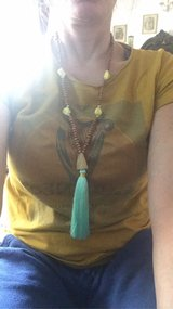 Hippy Necklace Teal NEW in Ramstein, Germany