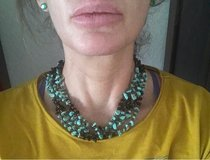 Fashion Jewelry turquoise and onyx Look in Ramstein, Germany