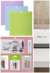 Cricut maker bundle (champagne) New in Yorkville, Illinois