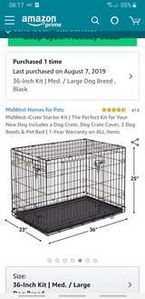 Medium dog crate in Camp Pendleton, California