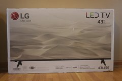 Brand New LG 43 inch LED TV - PRICE REDUCED in Joliet, Illinois