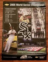 WHITE SOX 2005 World Series Champions Poster in Chicago, Illinois
