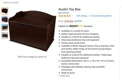 Toy box in Orland Park, Illinois