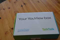 Talk Talk Youview, Freeview box with Catch Up, Huawei DN360T in Lakenheath, UK