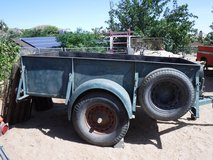Antique Trailer 4 x 8 Bed in Yucca Valley, California
