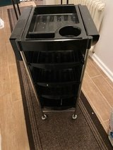 Salon Trolley Rolling Cart with 5 Drawers, Stylist Hairdressing Spa Cart W/Storage Wheels in Ramstein, Germany