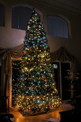 15 Foot Fir Full Artificial Christmas Tree in Travis AFB, California