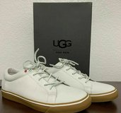 **NEW IN BOX**  UGG BROCK LUXE WHITE LACE SNEAKERS SHOES SIZE 10 in Cleveland, Ohio