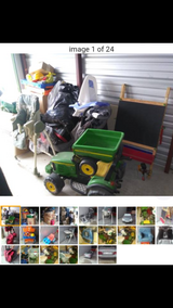 Take All Entire Storage Locker Lot Contents Young Boys Toys Clothes Housewares in Naperville, Illinois