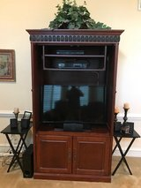 Armoire Entertainment Center in Houston, Texas
