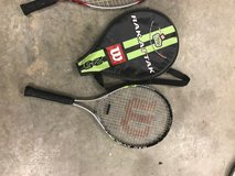 Wilson Tennis racquet in Fort Leavenworth, Kansas