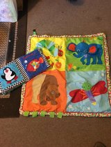 Play mat and fabric book in Fort Campbell, Kentucky