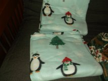 king size snowmen and peguin fleece blanket new in Alamogordo, New Mexico